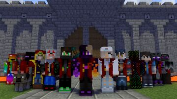 Retour aux sources, la team au complet (image sans modifs) Minecraft Blog