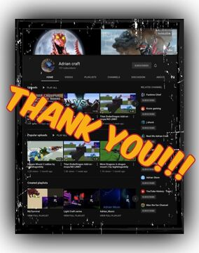 "Thank You ""Adrian craft"" for Subscribing to the General!!! Minecraft Blog"