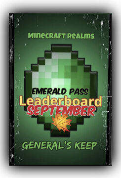 "MMG ""Emerald Pass"" Leaderboard UPDATE (September FINAL) Minecraft Blog"