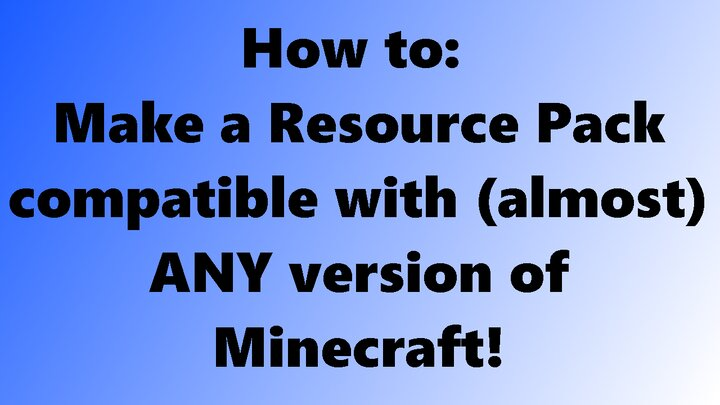 Popular Blog : How to: Convert Minecraft Texture Packs to (almost) ANY version! - popreel pog