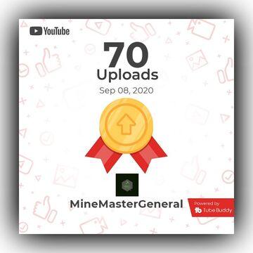 70 Uploads in YouTube!!! Minecraft Blog