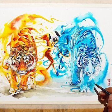 The great elemental tigers war Minecraft Blog