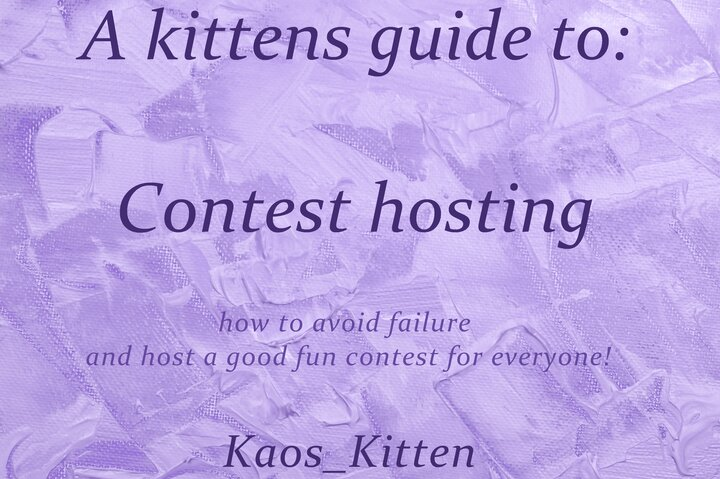 Popular Blog : A Kittens Guide to : (っ◔◡◔)っ ♥ 𝒞𝑜𝓃𝓉𝑒𝓈𝓉 𝐻𝑜𝓈𝓉𝒾𝓃𝑔 ♥