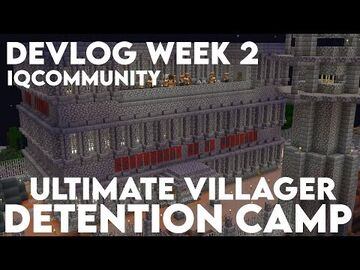 ULTIMATE villager detention camp Minecraft Blog