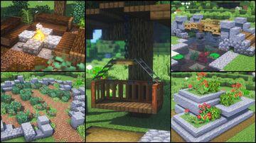 8 Garden Build Hacks and Ideas Minecraft Blog
