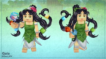 Gaia Hytale (Fan Model) Minecraft Blog