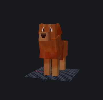 Golden Retriever Model Minecraft Blog