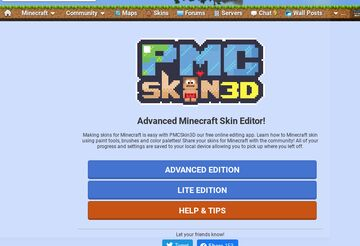 IHasFins Tutorials - How to access PMCSkin3D! (Basic) [Pop Reel] Minecraft Blog