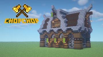 Medieval House Minecraft Blog