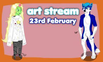 23rd February Art Stream Stuff Minecraft Blog