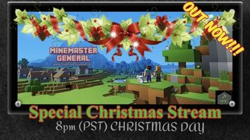 OUT NOW!!! Special Christmas Stream @ the General's Keep Minecraft Blog