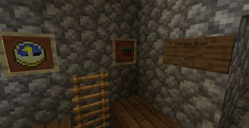 Keep a diamond pick and iron ingots in your base at all times. Minecraft Blog