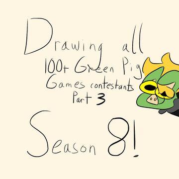Drawing 100+ GPG Contestants (season 8) Minecraft Blog