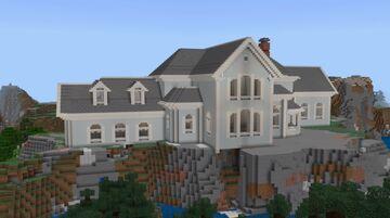 Minecraft Building the Oceanside Mansion Minecraft Blog
