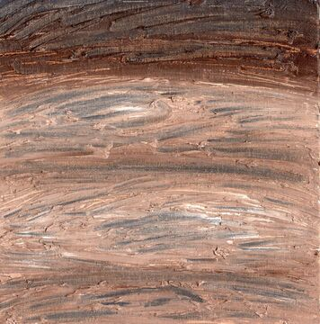 Experimental Oil Painting With Charcoal: Impasto Wood Texture Minecraft Blog