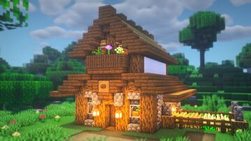 Small Survival House Minecraft Blog