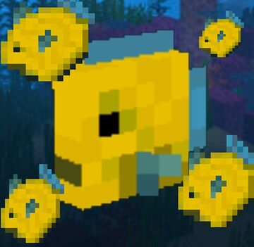 I found the old unused fish texture and I decide to remake it Minecraft Blog
