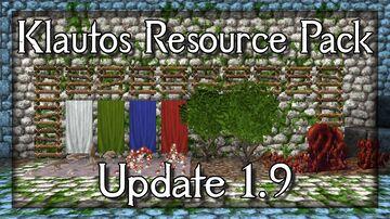 Klautos Resource Pack update 1.9 for 1.16+ Minecraft Blog