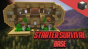 EASY Minecraft STARTER BASE Minecraft Blog