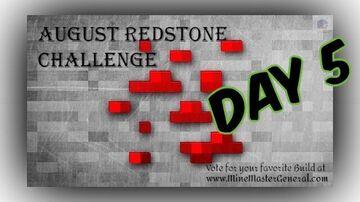 August Redstone Challenge Day 5 Polling OPEN Minecraft Blog