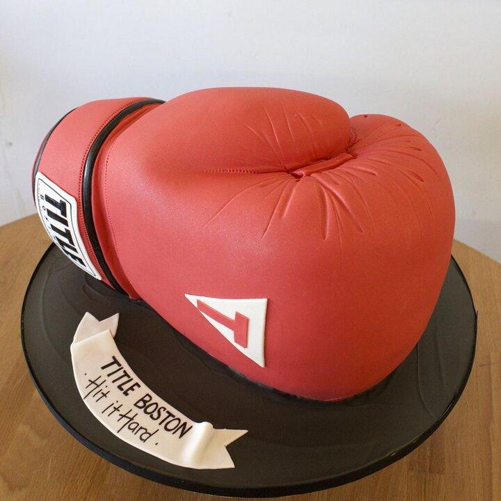 Popular Blog : boxing glove cake in random organzation