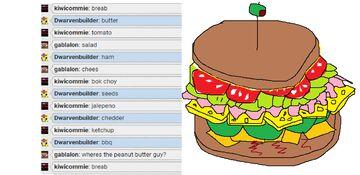 chat sandwich Minecraft Blog