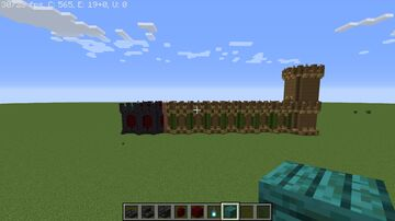 My new Castle Project Minecraft Blog