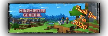 Thank You for 2020!!! Minecraft Blog