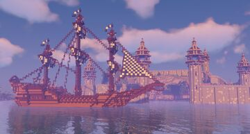I tried building a boat! What do you think? Minecraft Blog