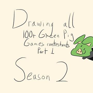 Drawing 100+ GPG Contestants (season 2) Minecraft Blog