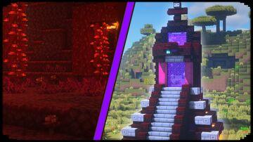 Nether Portal Designs Minecraft Blog