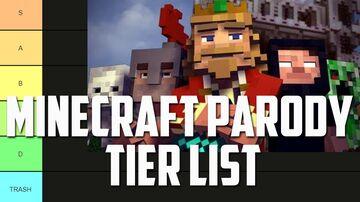 The COMPLETE Minecraft Parody Tier List Minecraft Blog
