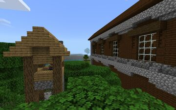 Villager outpost attacking the mansion Minecraft Blog