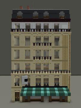 Haussmann architecture style | 1:1 scale tutorial Minecraft Blog