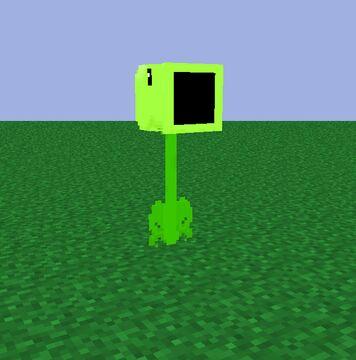 Peashooter screenshot Minecraft Blog