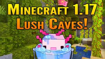 Minecraft Live: Minecraft 1.17 Cave Update Showcase | Lush Caves and Axolotl! Minecraft Blog