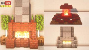 Minecraft Fireplace Designs (Tutorial) Minecraft Blog