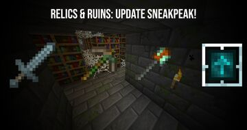 The new relics... (are out now!) What are they? and how will they work Minecraft Blog