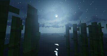 Beautiful moonlit night Minecraft Blog