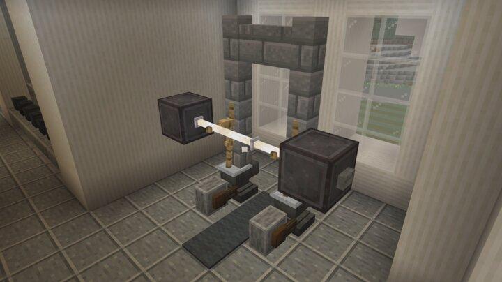 Popular Blog : Minecraft Squat Rack Tutorial/Gym Tour