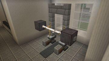 Minecraft Squat Rack Tutorial/Gym Tour Minecraft Blog