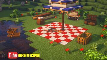 My Simple Picnic Setup! Minecraft Blog