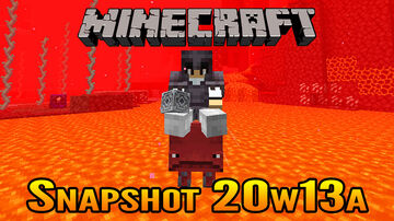 Minecraft Snapshot 20w13a | New Strider Nether Mob and Lodestone Block! Minecraft Blog
