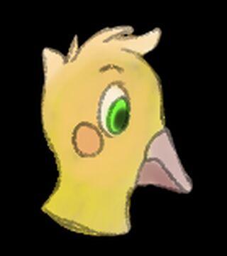 Quick Digital Baby Chick Sketch Minecraft Blog