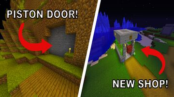 Check Out This AWESOME Piston Door I Built On Logcraft! Minecraft Blog
