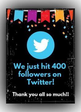 400 Followers on Twitter!!! Minecraft Blog