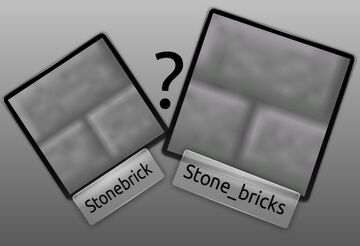 [Reference] Block Name Differences for Texture Pack Creators [1.12 - 1.14] Minecraft Blog
