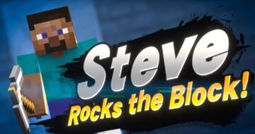We did it boys Minecraft Steve is finally in Smash Minecraft Blog