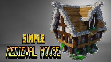 SIMPLE MEDIEVAL HOUSE (Minecraft Building Tutorial) Minecraft Blog