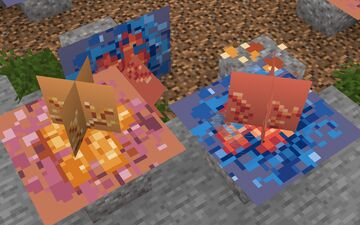 Working On Zach's Better Foliage Coral Clusters! Minecraft Blog